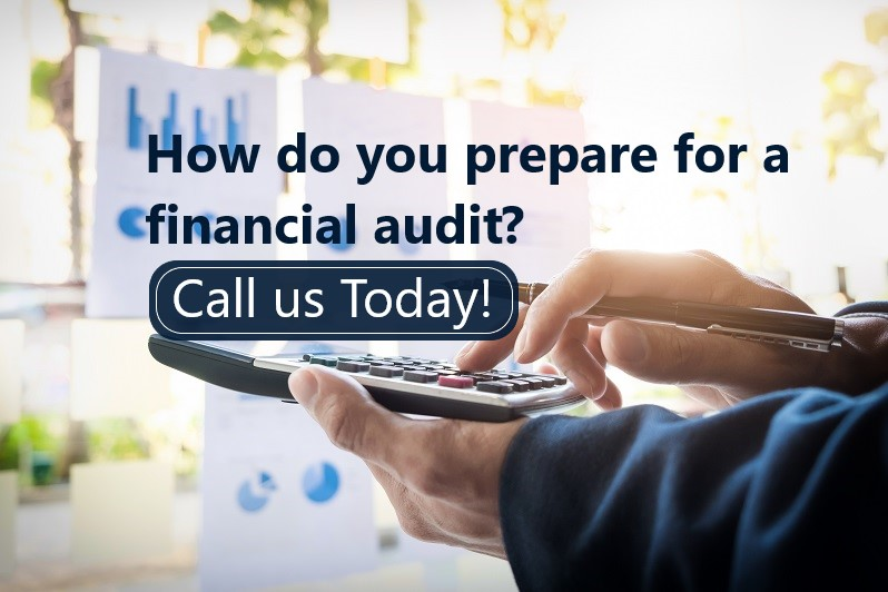 How do you prepare for a financial audit?