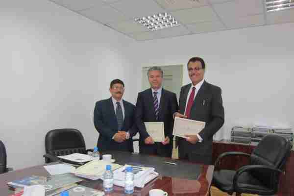 Bahrain – Sept 2013, signing a collaboration agreement with the General Council for Islamic Financial Institutions