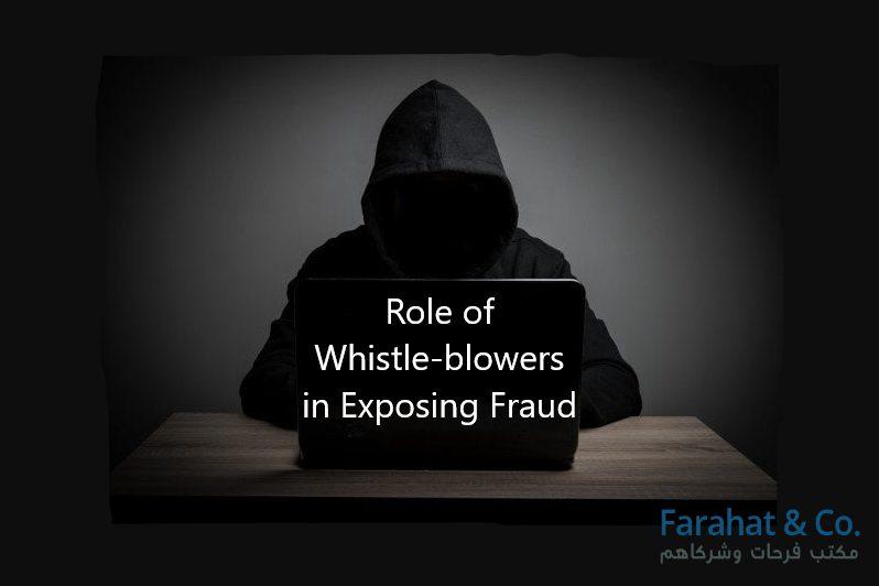 Whistle-blowers in Exposing Fraud