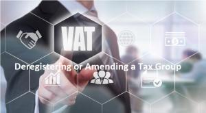 Amending a Tax Group