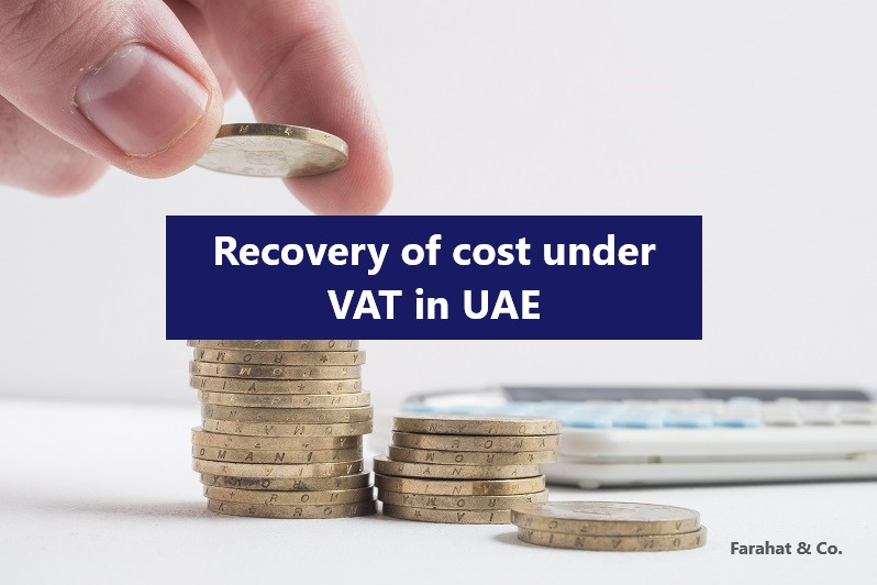 recovery of vat in UAE