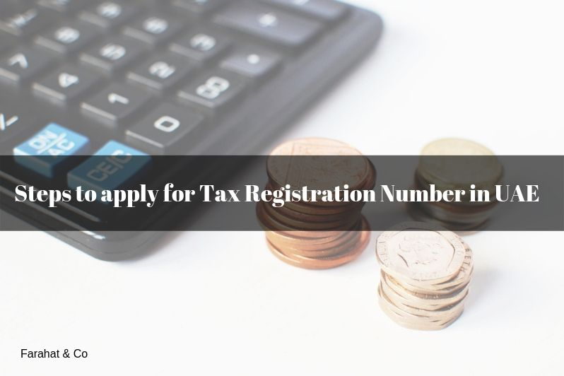 Tax Registration Number in UAE