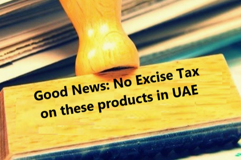 Products Exempted from New Introduced Excise Tax
