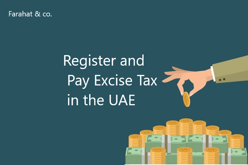 register and pay excise tax in the uae