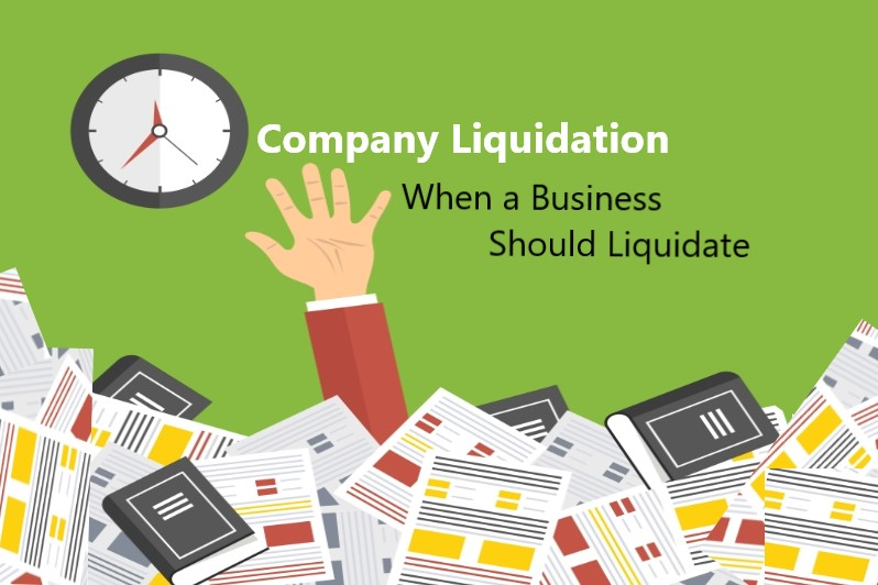 liquidation of company
