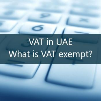 vat exempt items in uae