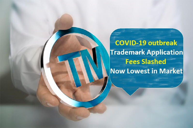 coronavirus- trademark fee reduced