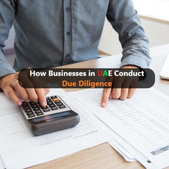UAE Conduct Due Diligence
