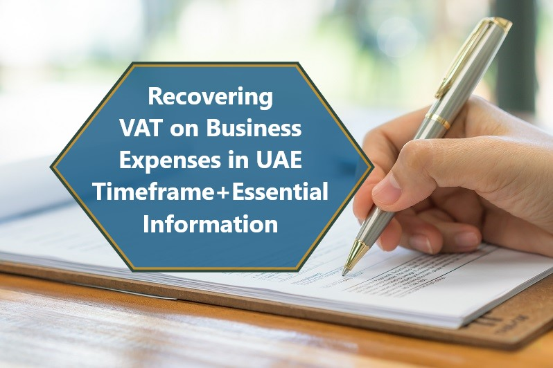 Reclaiming VAT on Expenses in the UAE