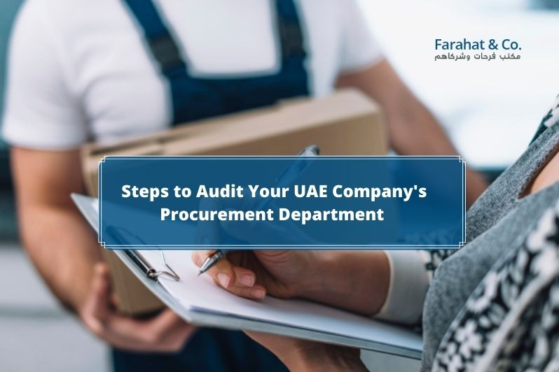 Company's Procurement Audit in UAE