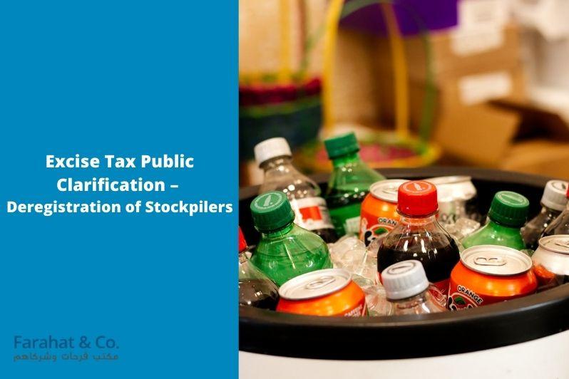 Excise Tax deregistration