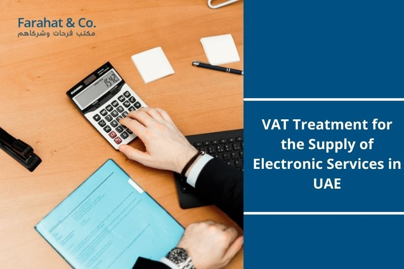 VAT Treatment for the Supply of Electronic Services in the UAE