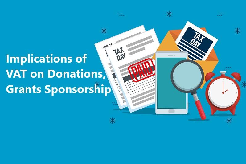 VAT on Donations Grants and Sponsorship