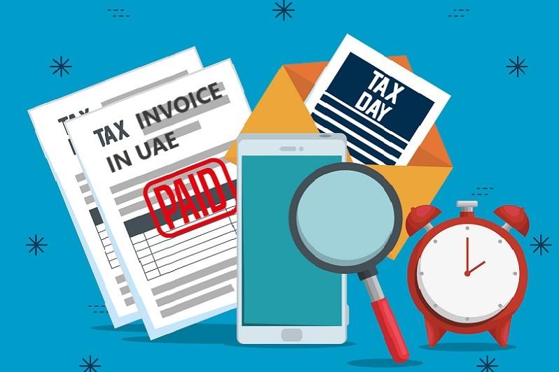 tax invoices in UAE