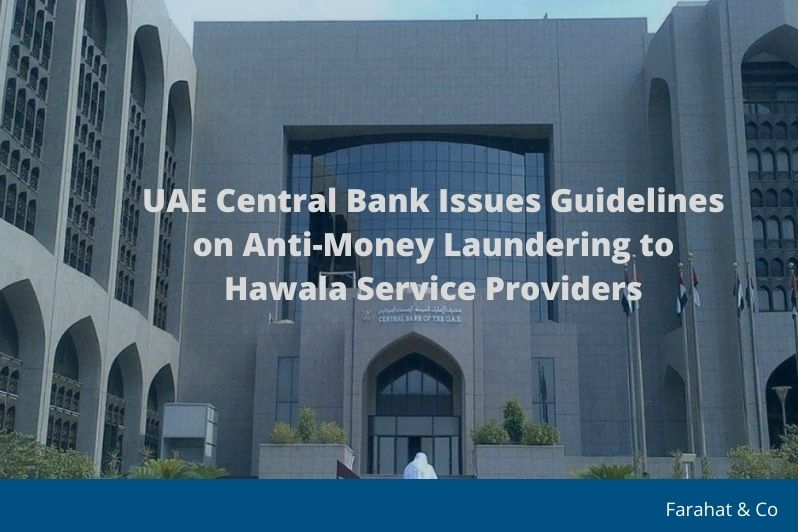 CBUAE Issues Guidelines on Anti-Money Laundering to Hawala Service Providers