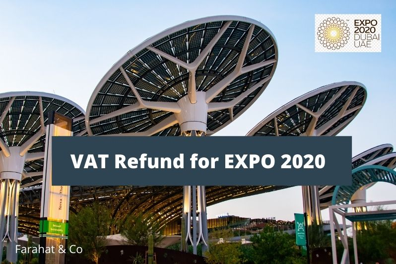 VAT Refund for EXPO 2020